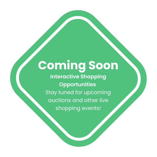 Coming soon. Interactive Shopping Opportunities.